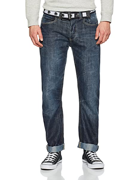 1c30b940c939 CrossHatch Herren Straight Jeans New Baltimore  Amazon.de  Bekleidung