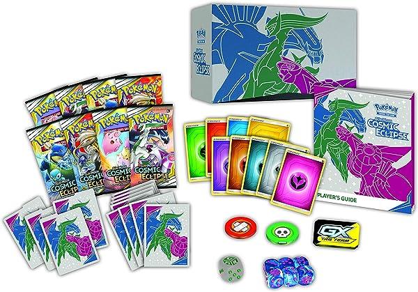 The Pokémon TCG: Sun & Moon Cosmic Eclipse Elite Trainer Box
