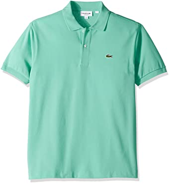 916f4b5a5e Lacoste Short Sleeve Pique L.12.12 Classic Fit Polo Shirt, L1212, Mint Green