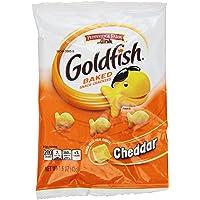 Pepperidge Farm Goldfish, Cheddar, 1.5 Ounce Bags (Pack of 24)