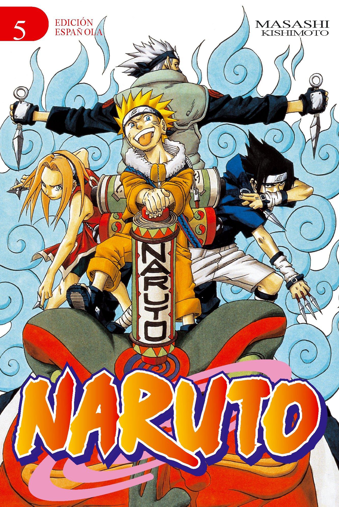 Naruto nº 05/72 (EDT) (Manga No): Amazon.es: Masashi ...