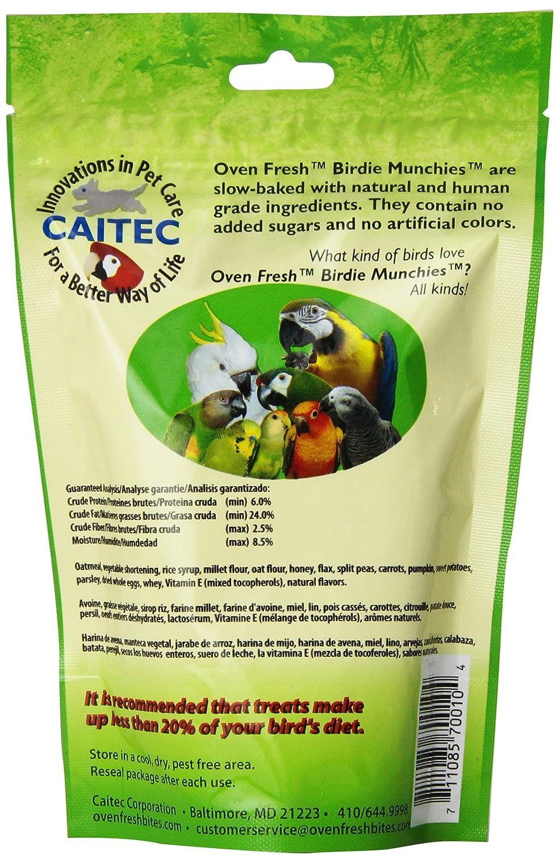caitec 4oz Baked Birdie Munchies Veggie Delight: Amazon.es: Productos para mascotas