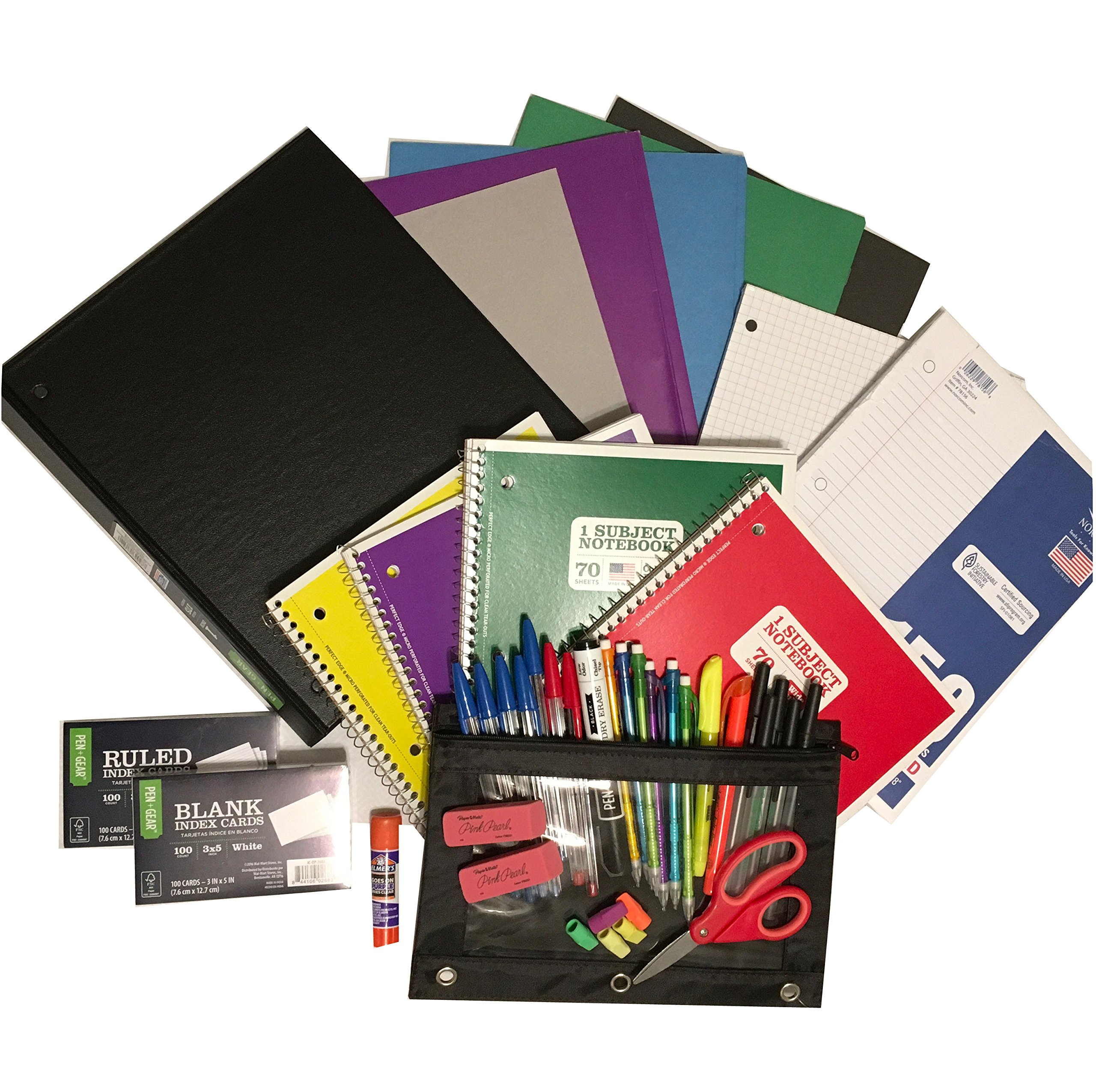 School Supply Bundle for Middle to High School Students
