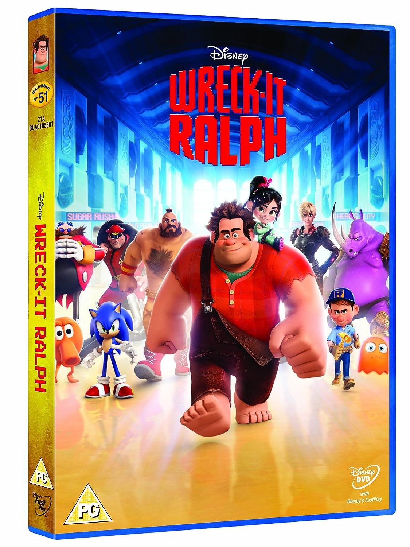 WreckIt Ralph DVD Amazoncouk John C Reilly Jack McBrayer