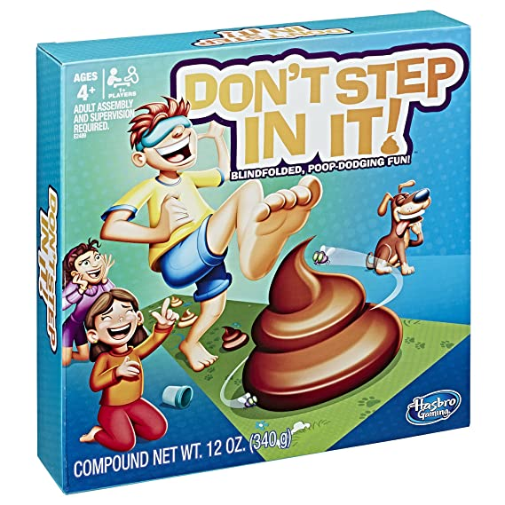 Amazon Com Don T Step In It Hasbro Toys Games