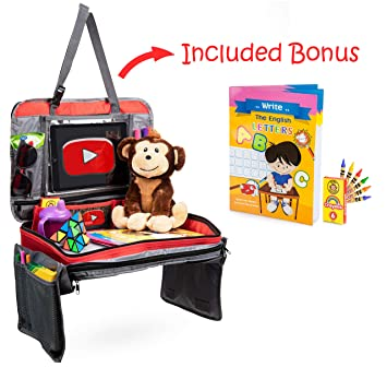 Amazon.com: Bandeja de viaje Centro de actividad para niños ...