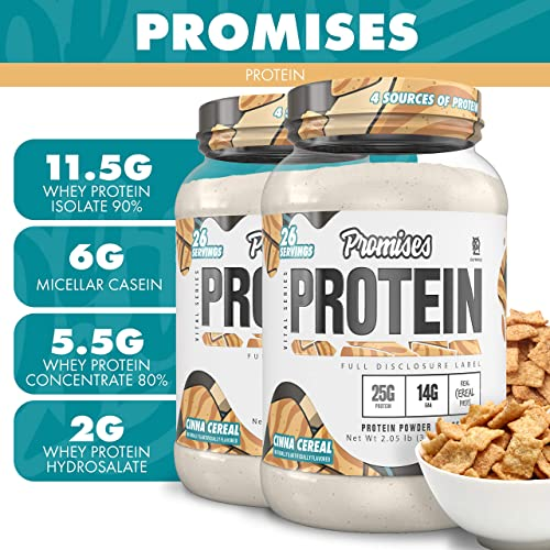 Olympus Lyfestyle Promises Protein Powder 26 Servings Cinna Cereal