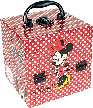 Minnie Mouse - Maquillaje, caja con asa (Markwins): Amazon.es: Juguetes y juegos