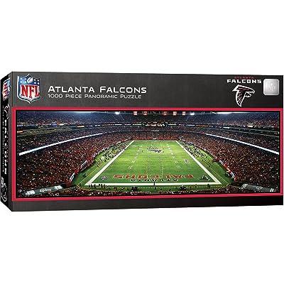 MasterPieces NFL Atlanta Falcons Stadium Panoramic Jigsaw Puzzle, 1000 Pieces: Sports & Outdoors