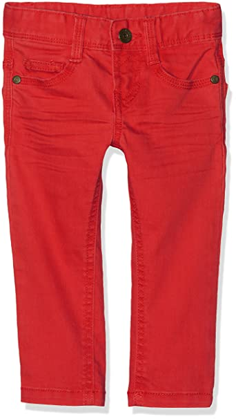 red Bambino Of United Pantaloni Benetton Rosso Colors Trousers wzxAq4T0