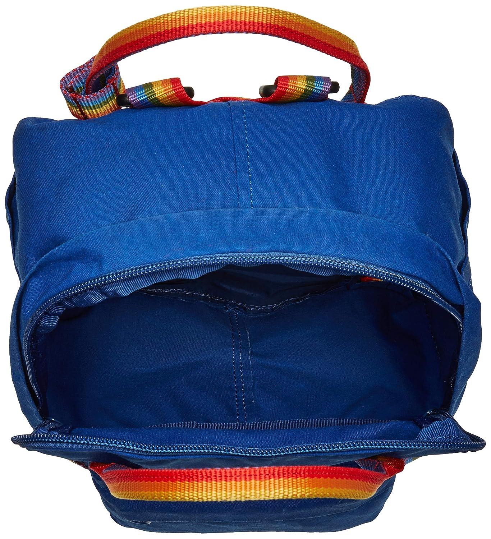 29 cm Blu FJ/ÄLLR/ÄVEN K/ånken Rainbow Mini Zaino Casual Deep Blue-Rainbow Pattern 7 Liters