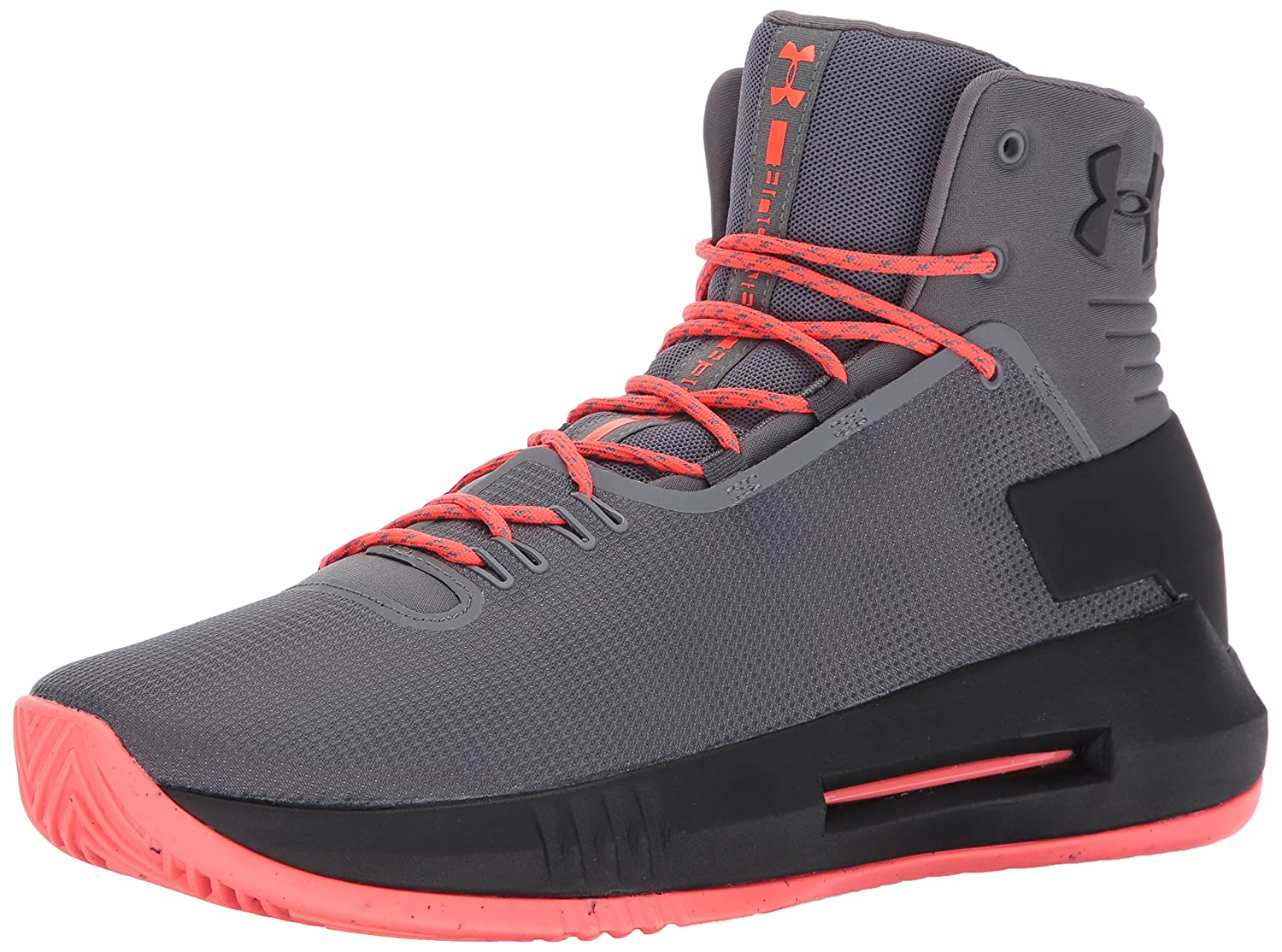 Under Gris Armour Chaussures Drive 4 Gris Under Basketball Homme 44.5 EU|Graphite 91447b