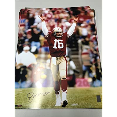 104563860da Joe Montana Autographed Signed San Francisco 49ers 16x20 Photo GTSM Montana  Player Hologram
