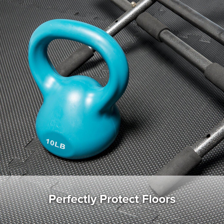 Levoit Puzzle Exercise Mat Premium Eva Foam Interlocking