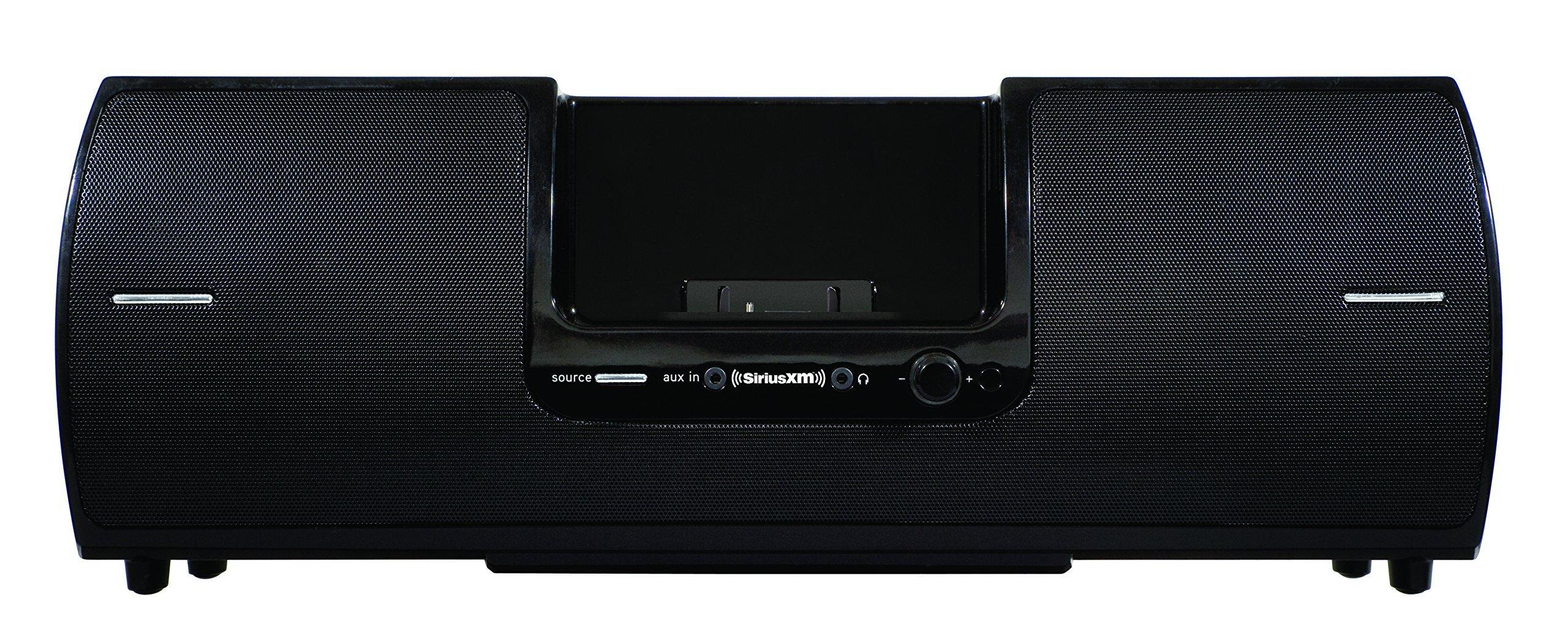 SiriusXM SXSD2 Portable Speaker Dock Audio System for Dock and Play Radios (Black) (Renewed) by SiriusXM