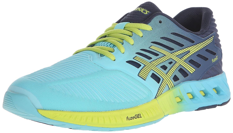 ASICS Women's fuzeX Running Shoe B00YB0OKM4 5.5 B(M) US|Turquoise/Sharp Green/Ink