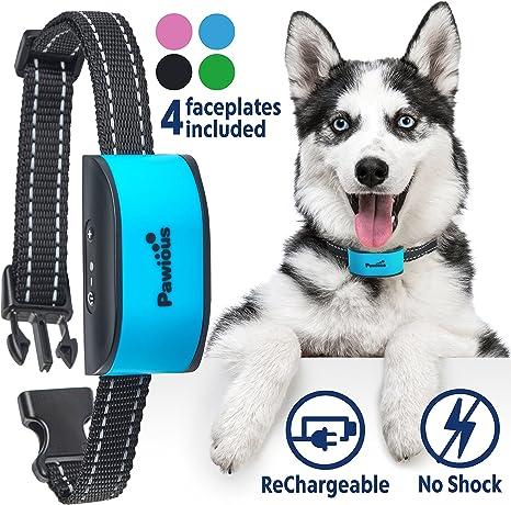 RECHARGEABLE Anti Bark Dog Collar NO SHOCK Humane 2017 NEW CHIP V.V