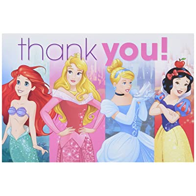 Postcard Thank You | Disney Princess Dream Big Collection | Party Accessory: Toys & Games