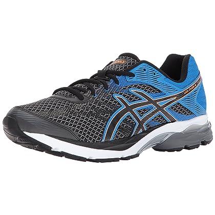 ASICS Men's Gel Flux 4 CarbonBlackDirectoire Blue Running