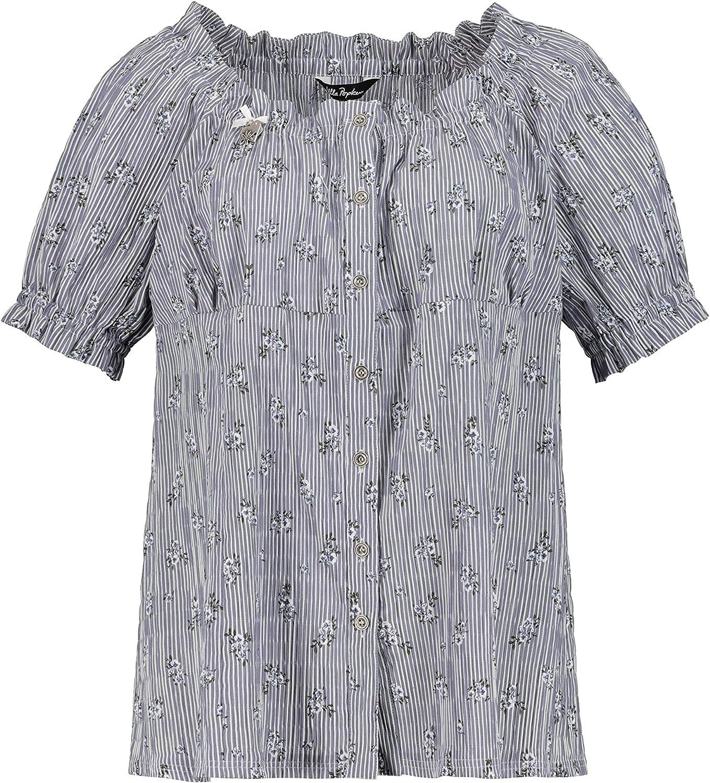 ULLA POPKEN T-Shirt mit Knopfleiste NEU Gr.46/_48