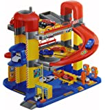 A to Z 02109 Super Garage Playset with 6 Cars