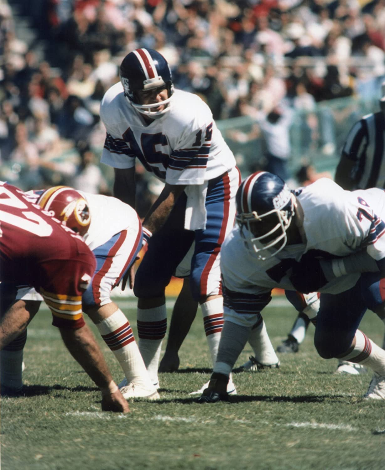 XLT LAWRENCE TAYLOR NEW YORK GIANTS 8X10 SPORTS ACTION PHOTO