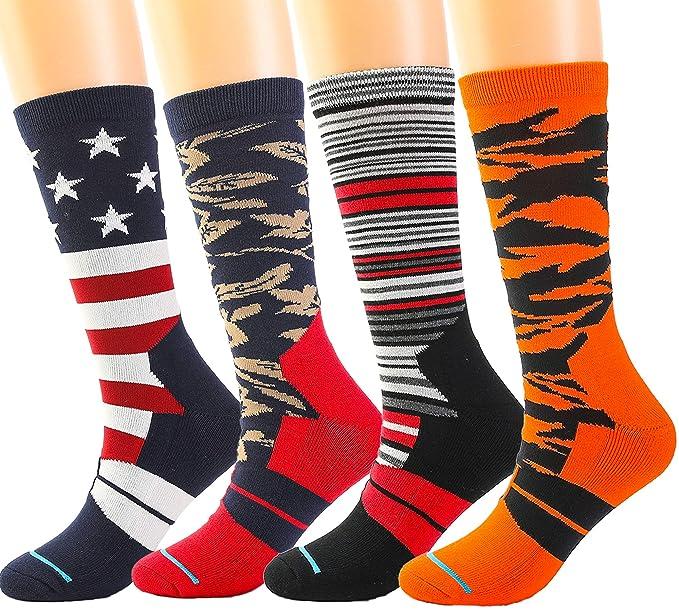 Amazon.com: Calcetines deportivos para niños, calcetines ...