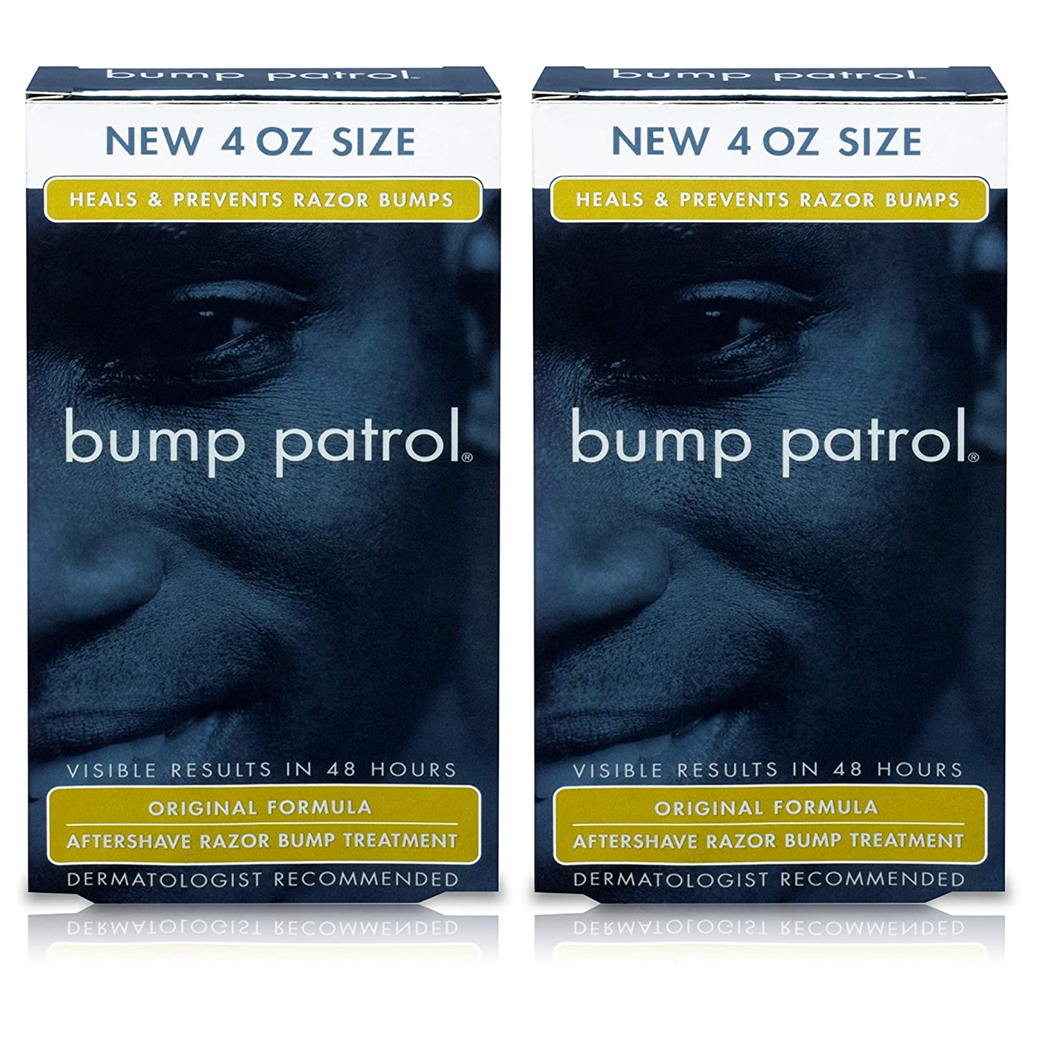 Bump Patrol Original Formula After Shave Bump Treatment Serum - Razor Bumps, Ingrown Hair Solution for Men and Women - 4 Ounces Atlas Ethnic 0612831022115