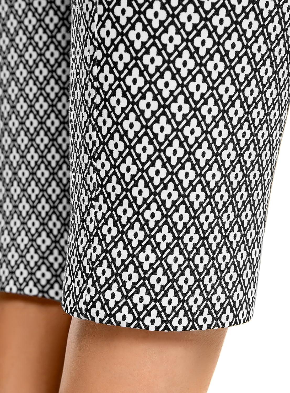 oodji Ultra Mujer Pantalones Ajustados de Tejido Elástico RIFICZECH s.r.o.  11707116-1 dd0c7f59177b