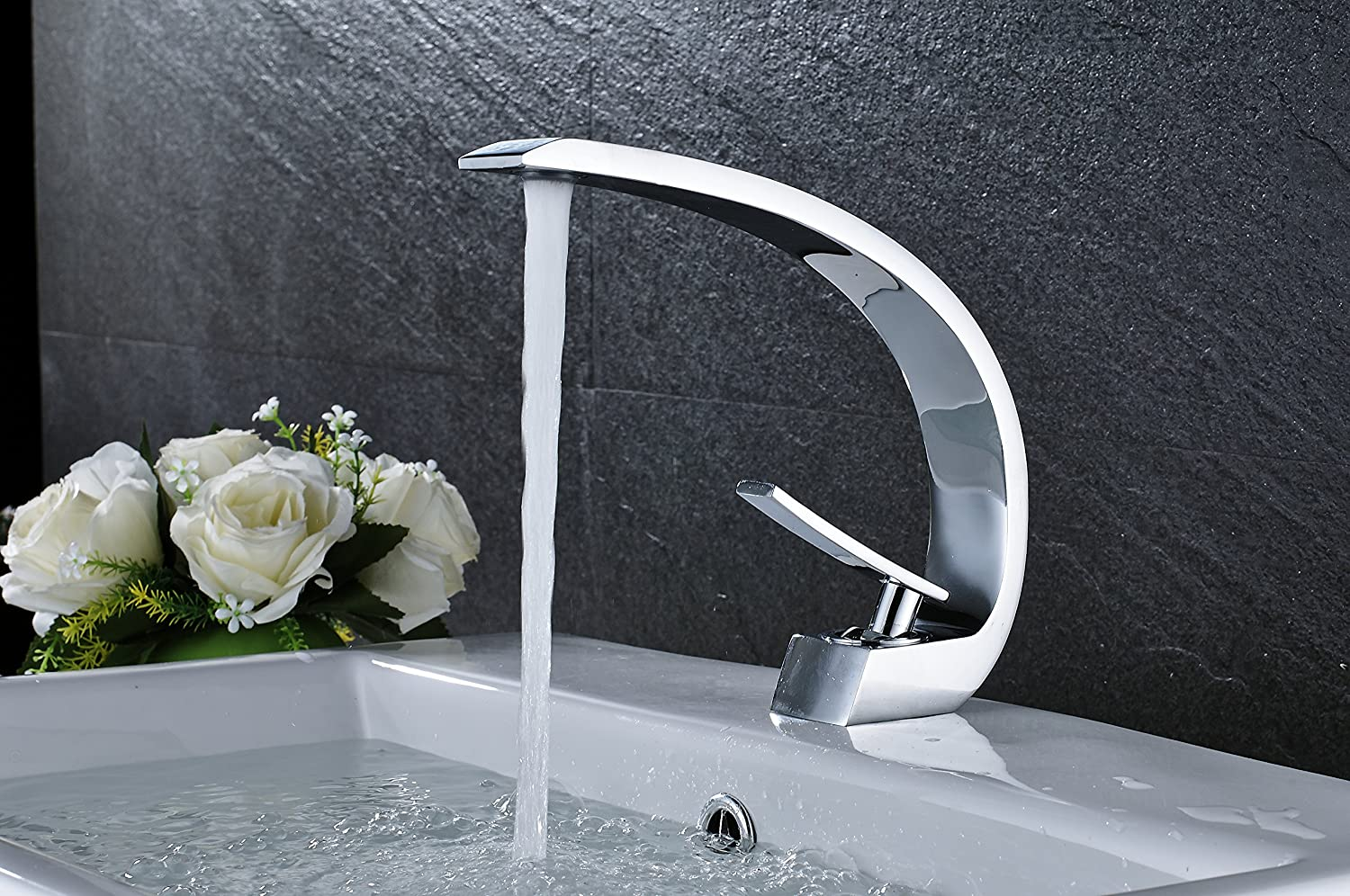 Rozin Creative Design Bathroom Sink Faucet Single Handle Mixer Tap ...
