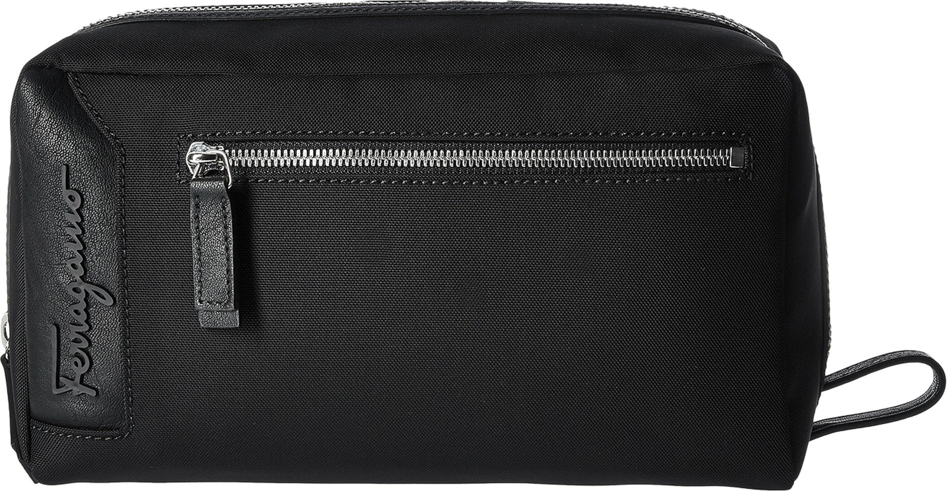 Salvatore Ferragamo Men's Capsule Now Dopp Kit - 240362 Black Cosmetic Bag
