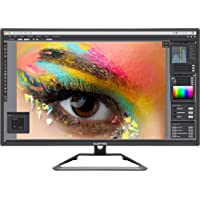 "Sceptre 27"" 4K UHD IPS LED Monitor up to 70Hz DIsplayPort HDMI DVI Build-in Speakers, Frameless Machine Black 2020 (U279W-4000R)"