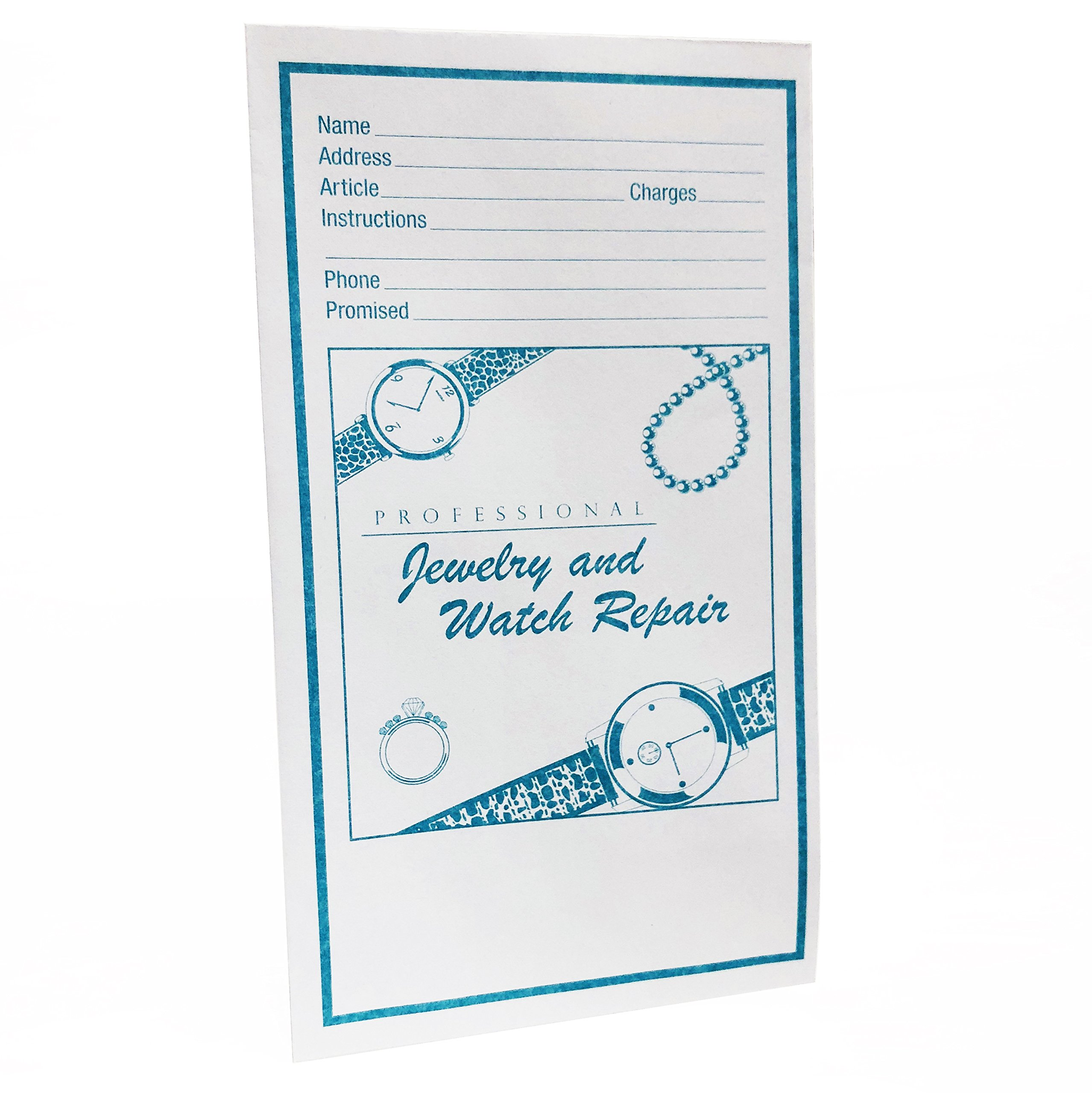 Jewelry and Watch Repair Envelopes, Blue by Unknown