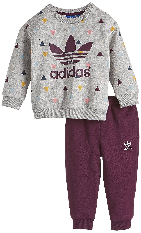 adidas I WA TS FL G - Chándal para niños, Color Gris/Rojo/Amarillo ...