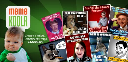 Amazoncom Meme Koolr Maker Appstore For Android