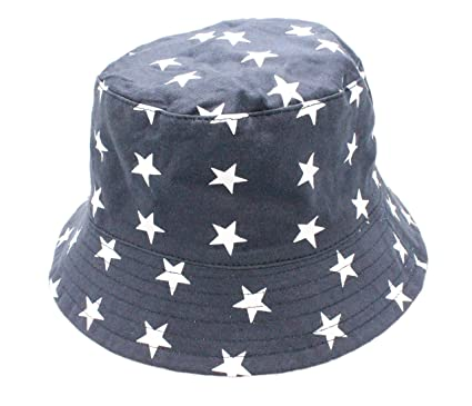 e86cfefa2 Colourful Baby World Kids Boys Girls Summer Stars Sailor Reversible Bucket  Sun Hat Cap Age 2 3 4