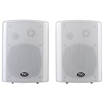 TIC WPS5 W 5u0026quot; Outdoor Weather Resistant Wifi Patio Speakers With  AirPlay (