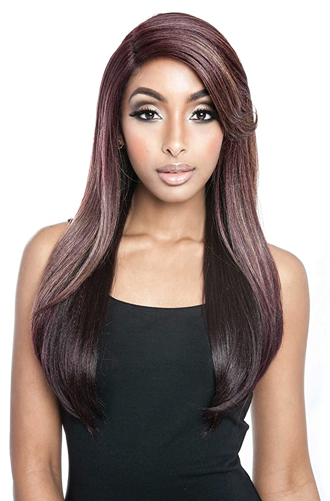 ISIS MANE CONCEPT OIL SLICK RED CARPET PREMIERE LACE FRONT WIG CHARLOTTE - RCP781 (OS1B/PEACOCK)