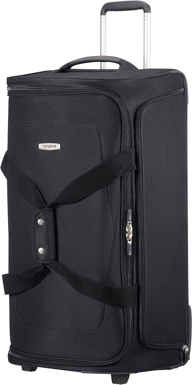 Samsonite Spark SNG - Wheeled Duffle Bag 77/28 Bolsa de Viaje, 77 cm, 107.5 litros, Negro (Black)
