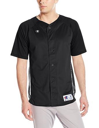 a6e955f0119f Champion Life Men's Prospect Baseball Jersey: Amazon.co.uk: Clothing