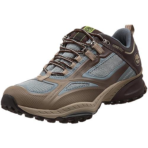 Timberland All Mountain Inferno Low Gore Tex - Zapatillas de Senderismo de material sintético mujer, marrón - Marron/bleu, 41,5: Amazon.es: Zapatos y ...