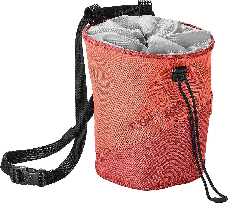 EDELRID Chalk Bag Monoblock - Bolsa para magnesio, Koi Orange ...