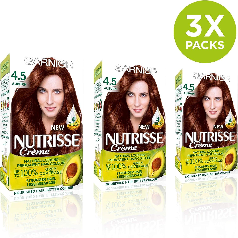 Garnier Nutrisse 4.5 - Tinte para el cabello permanente ...