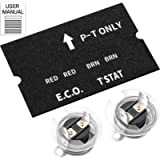 Water Heater ECO Thermostat Assembly Compatible with Atwood 91447,Replacement Part for Water Heater Repair Parts Fit For…