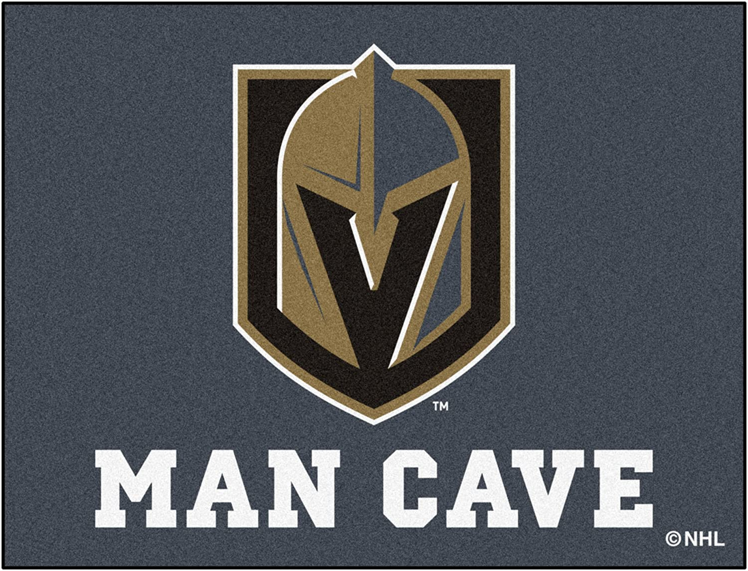 FANMATS NHL Vegas Golden Knights NHL Vegas Golden Knightsman Cave All-Star One Sized Team Color