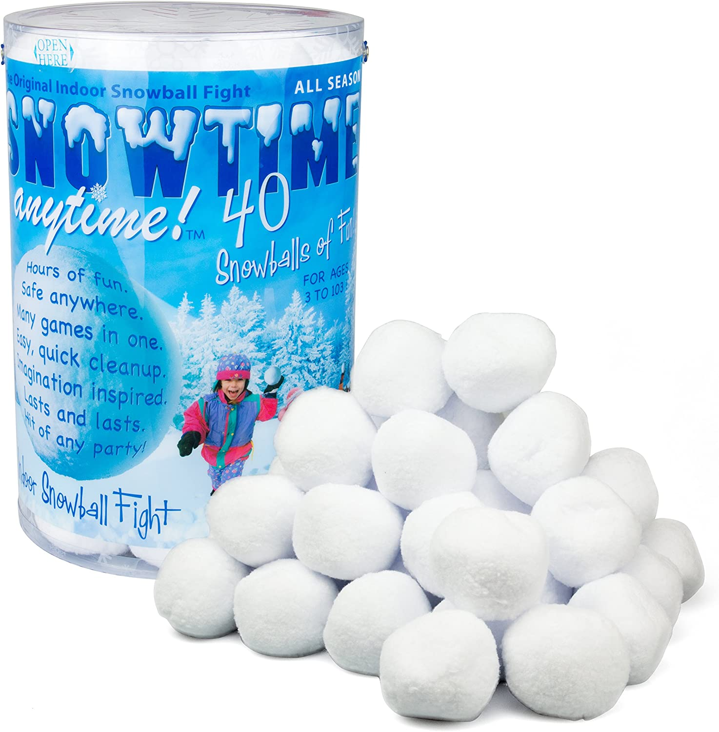 Indoor Snowball Fight
