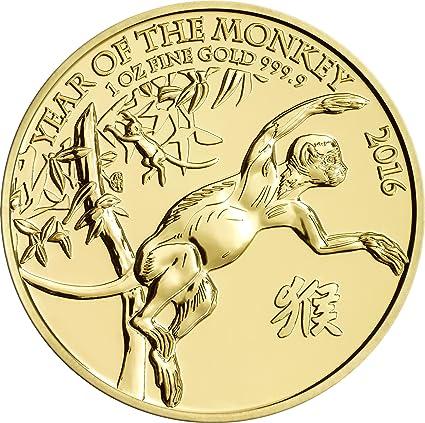 2016 Royal Mint 1oz - Lunar Jaar van de aap...