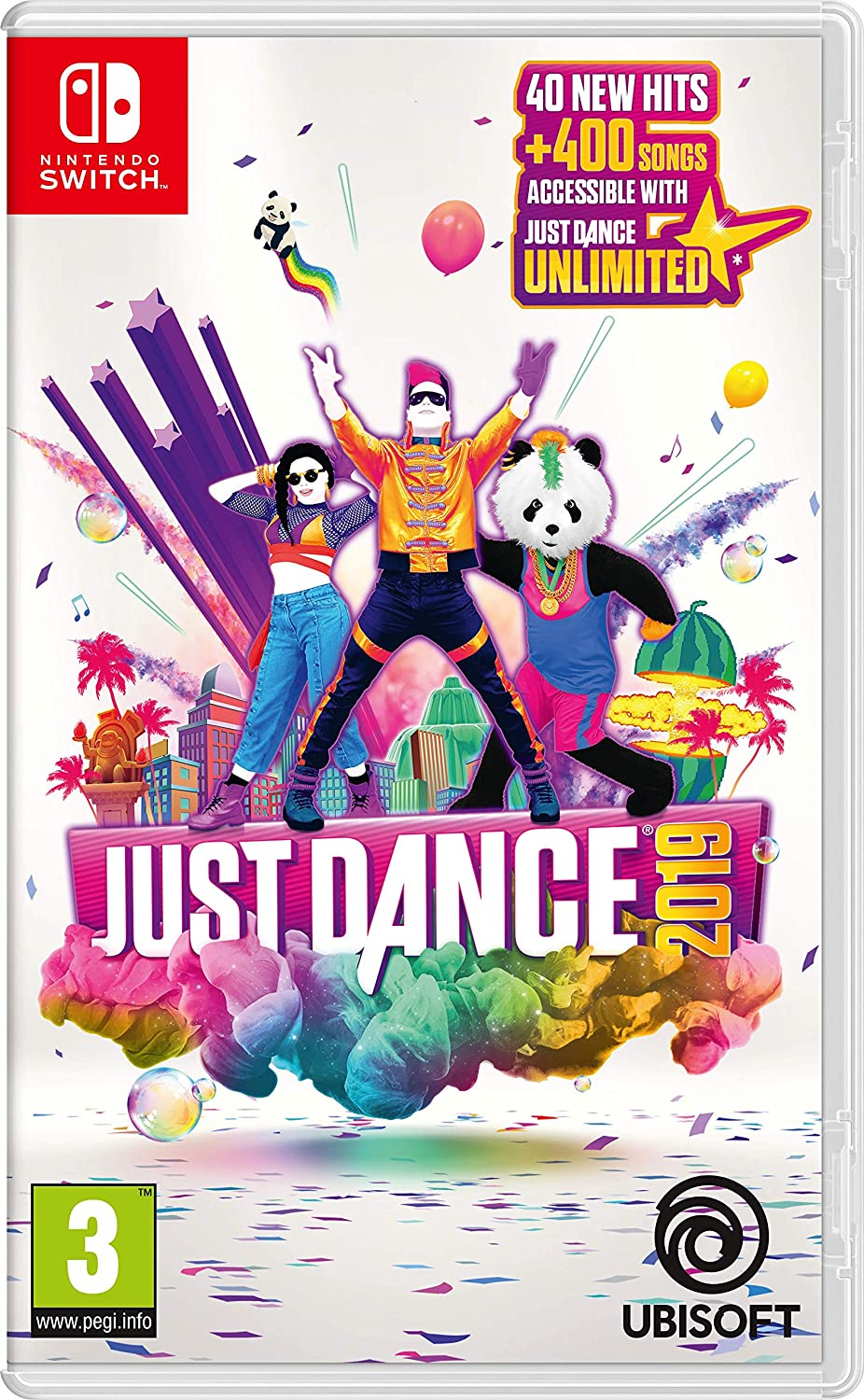 Ubisoft Just Dance 2019 Básico Nintendo Switch Inglés vídeo - Juego (Nintendo Switch, Danza, Modo multijugador, PG (Guía parental)): Amazon.es: Videojuegos