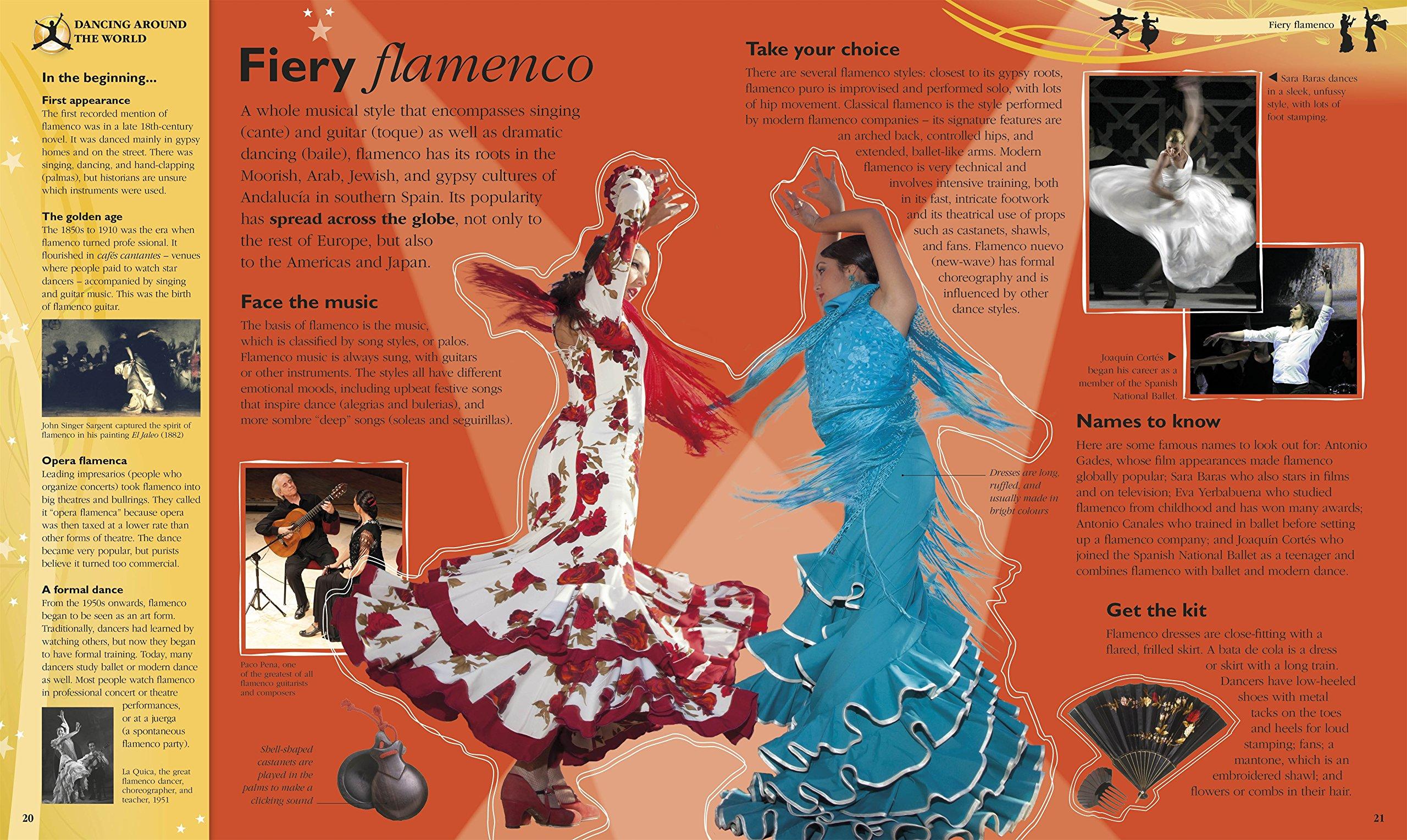 Amazon.com: The Book of Dance (9781405391528): DK: Books