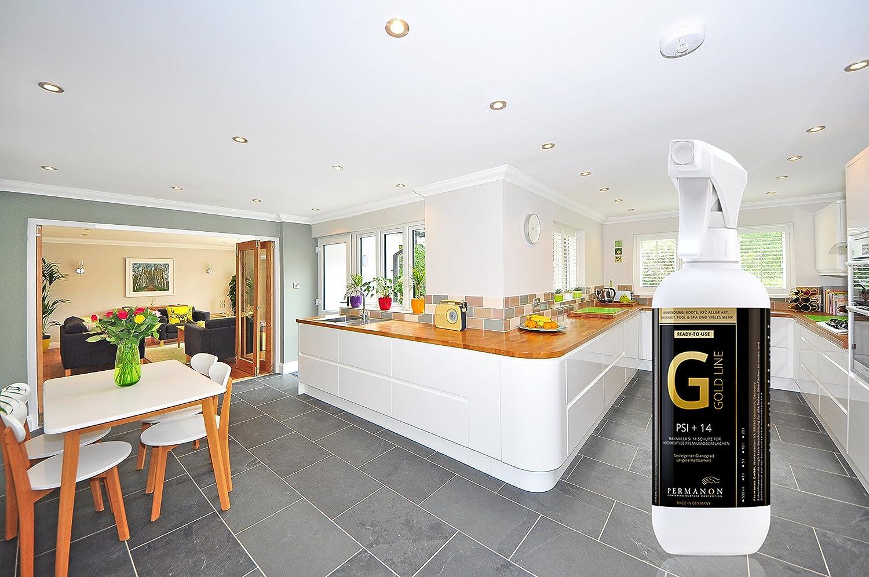 Permanon, Gold Line, 500 ml, Pflege für Hochglanz Küchen Möbel ...